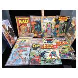 Lot of vintage comics - 12 cent, 15 cent, 25 cent