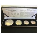 2003 Silver Wildlife Series Proof Set,(The