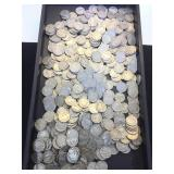 Large lot of Buffalo Nickels