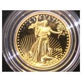 1/10 oz. Gold 1992  $5 American Eagle