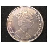 1 Crown Coin depicting Elvis