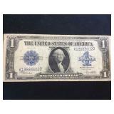 1923  $1 Horse Blanket Silver Certificate, w/ coa