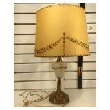 Early 40s lamp w/original shade