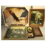 Lot of framed Prints and more