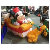 Christmas Mickey Mouse & friends inflatables,