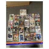 50 cases of sports cards