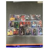 29 cases of nascar cards in cases
