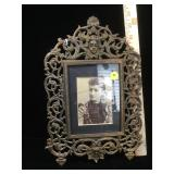 13 in Iron Victorian picture frame with an