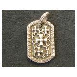 Sterling Hard Core Elegance pendant, 10.6g