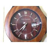 Kalifano Natural Wood made watch, (new ) in box