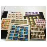 Assortment of unused stamps, $56,20 face value