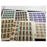 Assortment of u hsed stamps,$57.20 face value