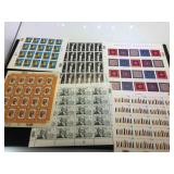 Assortment of unused stamps, $40.80 face value
