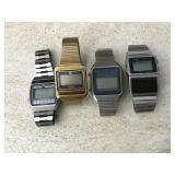Vtg. Timex, Casio  & More -Digital Watches