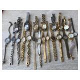 Goldtone & Silvertone Assorted Watches