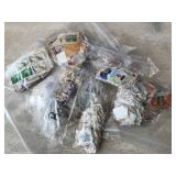 Vintage American & Foreign Stamps-Large Lot