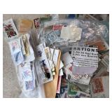 Vintage American & Foreign Assorted Stamps