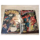 Vtg. DC Comics- Superman, Superboy
