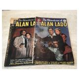 Vtg. DC The Adventures Of Alan Ladd