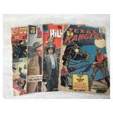 Vtg. Comics- Texas Avengers, Maverick & More