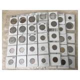 Foreign Coin Assortment- Austria, China & More