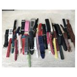 Watch Bands/Straps Assorted Sizes