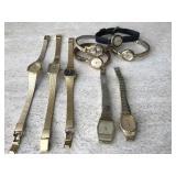 Vtg. Pulsar, Timex & Casio Watches