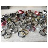 Fashion Clamper Watches & More- Large Lot