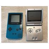 Nntendo Game Boy Advance & Game Boy Color
