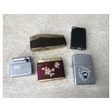 Vintage Flamex, Colibri Lighters & More