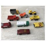 Vtg. Matchbox Dump Trucks & More