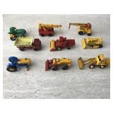 Vtg. Matchbox Tractors & More