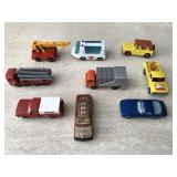Vtg Matchbox Ambulance, Crane & More
