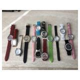 Fashion Watches, Large Lot