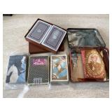 Vtg. Great Mogul Playing Cards & More