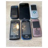 Assorted Cell Phones - LG & More