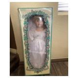 Rare - Le Cheri Porcelain Doll - Hand  Crafted