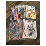 Vtg. Valiant Comics-X O Manowar & More-Large Lot