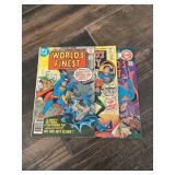 Vtg. DC Worlds Finest Comics & More