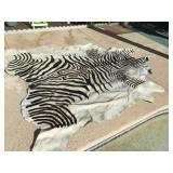 Zebra Hide Approx. 90 X 82