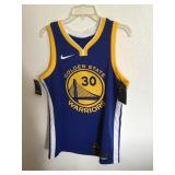 Golden State Nike Basketball Jersey # 30 -NWT