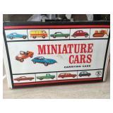 Mattel Miniature Car Carrying Case-1966