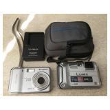 Fujifilm Finepix F470 & Lumix DMC-TS3 Cameras