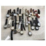 Leather Strap Watches- Some Vintage
