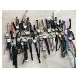 Leather Strap & Fashion Watches- Large Lot