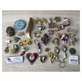 Novelty Pins- Christmas & More