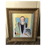 Vintage Religious Oil Painting