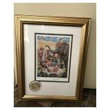 Signed Emmet Kelly Circus Edition -AP