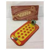 Mystery Shooter vintage tin game