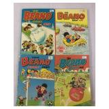 Beano vintage books- set of 4